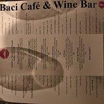 Foto de Baci Cafe & Wine Bar