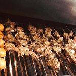 Chopan Kabob on the Grill.