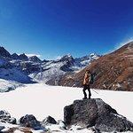 Gokayo lake in Everest area