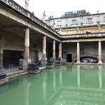 羅馬浴場博物館照片
