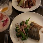 Duck and the seabream