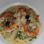 The Risotto and prawns. - Simply Mind Blowing