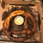 Ordered takeout last night & loved the beer cheese pretzel (enormous & can feed 4 people as appetizer) & also purchased a pound of chicken - it was juicy, tender, & you could taste heavy smoke, which was much to my delight. Great food & I will return again & again! Best BBQ in town & off beaten path. Highly recommend!