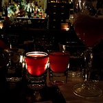 Strawberry whisky shots