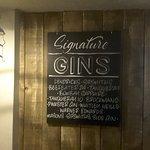 Gin info on offer