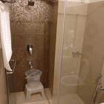 The bath area in Garden view rooms