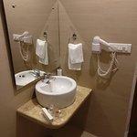 The bathroom in Garden view rooms