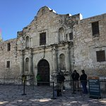 Outer entrance to The Alamo