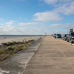 beach on the seawall