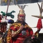 The inka king.
