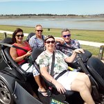 Wife's xmas present and mates birthday present. Very cool way to spend 45 minutes. Well worth a visit to Super trike tours. They rock.