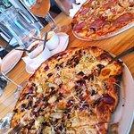 The amazing pizzas