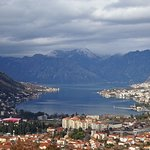 View of Kotor from Hills Abovrr