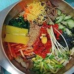 전주비빔밥...