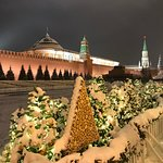 View of Red Square and its area while staying in Hyatt Regency Moscow Petrovsky Park, December 2018.