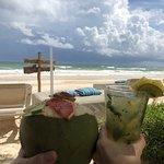 Cocktails am Strand