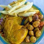 chicken - very dry