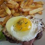 Steak à Cheval