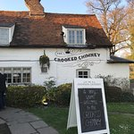 Lovely looking pub, with nice interior features