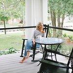 Guest private porch