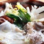 クエ鍋料理