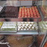 Variety of sweets.