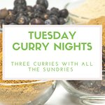 Tuesday is curry night!