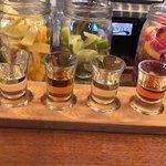 Distillery flight