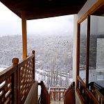 Winter view of Oshao Maraka Restaurant