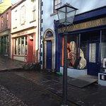 Re-created village street