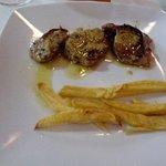 Solomillos de cerdo en salsa de mostaza