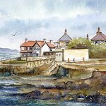 Watercolour of Sandycove