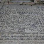 Roman Mosaics in Risan, Montenegro.