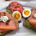 Smoked Salmon on Avocado Toast