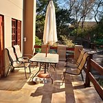 downstairs apartment Patio