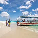 Epic Water Taxi - daily public ferry service to Klein Bonaire (7 days per week) starting from Bonaire Nautico Marina