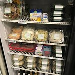 Cheeses and meats, chicken salad and pimento cheese...and cooler pies!  Delicious cooler pies!