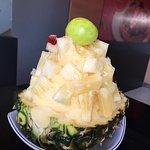 ภาพถ่ายของ ฮัค ไอศกรีมเกร็ดหิมะ