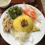 com ga (chicken rice) my go to lunch every day