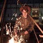 Mohammed con el fuego.
