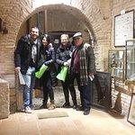 Familia de Almería conociendo nuestro histórico subterráneo, muchas gracias y hasta pronto :) .