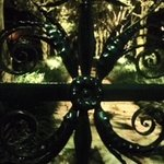 Sword Gate at night