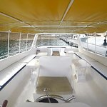 Our fully renovated dive boat, Eagle One