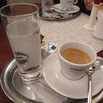 Café delicioso no final