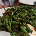 We love the spicy Green Beans