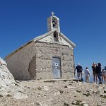 Small church at the top of Biokovo Mountin.