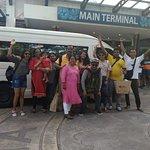 Toyota Hiace minibus happy with them