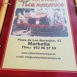 Bilde fra Cafeteria Los Naranjos
