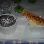 Mousse soufflée au chocolat et mandarine - Restaurant Au Petit Bois Vert - Strasbourg - 05-Jan-2019