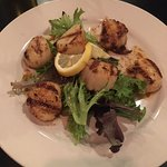 Scallops Appetizer - I do believe we'd have licked the plate if it was socially acceptable.